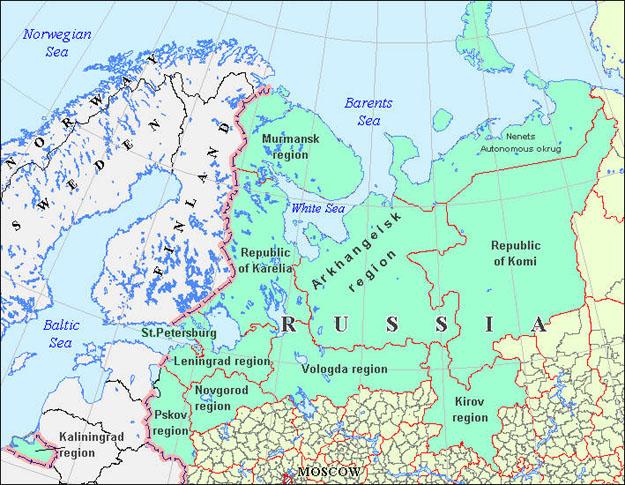 Архангельская область   Википедия