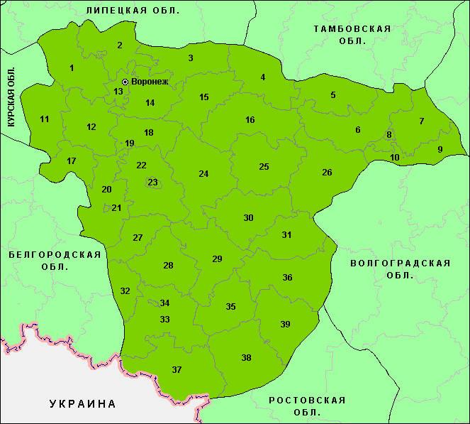 воронежский край: