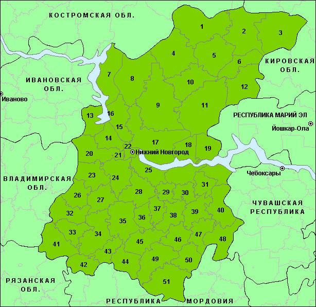 Бюджет Нижегородской области