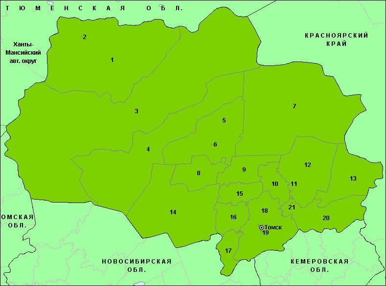 Бюджет Томской области