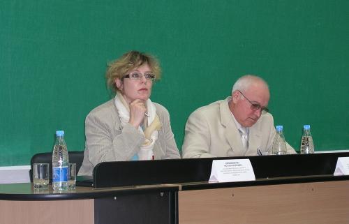 Руководители секции слева направо